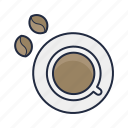 bean, beverage, caffeine, coffee, drink, hipster icon