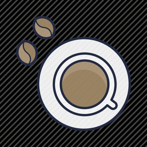 bean, beverage, caffeine, coffee, cup, drink, hipster icon