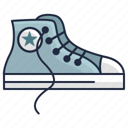 boots, converse, fashion, hipster, punk, shoes icon