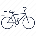 bike, ride, wheels icon
