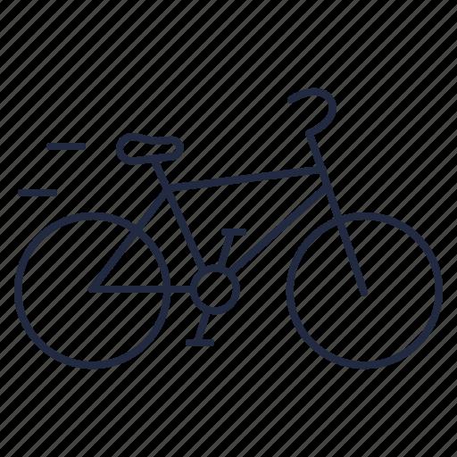 bicycle, bike, eco, ecology, ride, transport, wheels icon