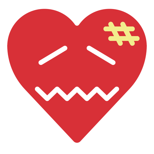 confounded, confused, emoji, emotion, fail, heart icon