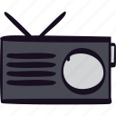 am, device, fm, music, radio, transmission, wireless icon