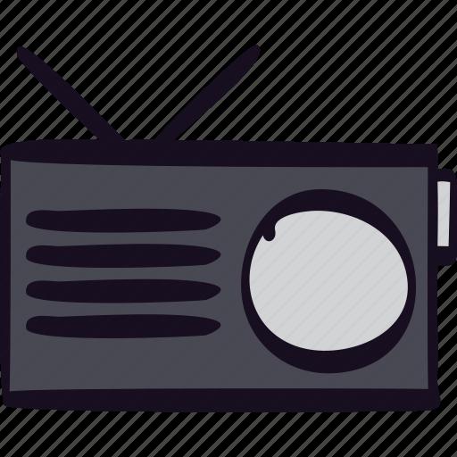 am, device, fm, music, radio, transmission, wireless icon