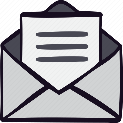 communication, inbox, letter, mail, post, text icon