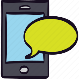 cellphone, communication, message, smartphone, sms icon