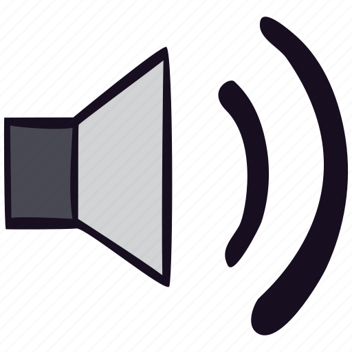 full, music, sound, speaker, volume icon