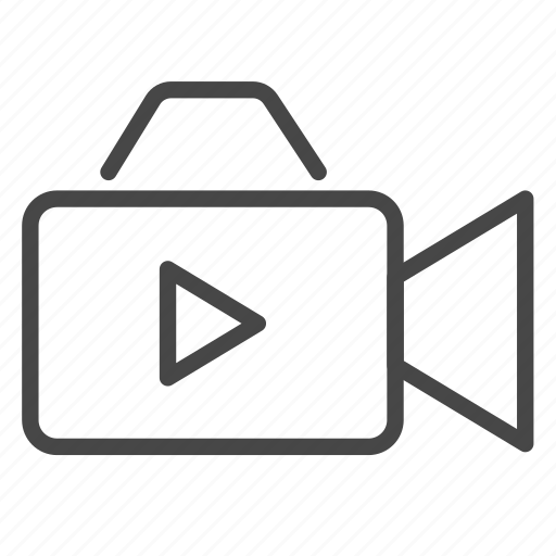 clip, freelance, movie, record, vdo, video icon