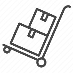 delivery, freelancer, logistics, manufacturing, products icon
