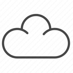cloud, freelancer, online, server, storage icon