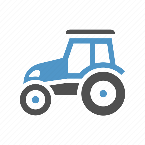 agriculture, cargo, deliver, farm, freight transport, tractor, truck icon