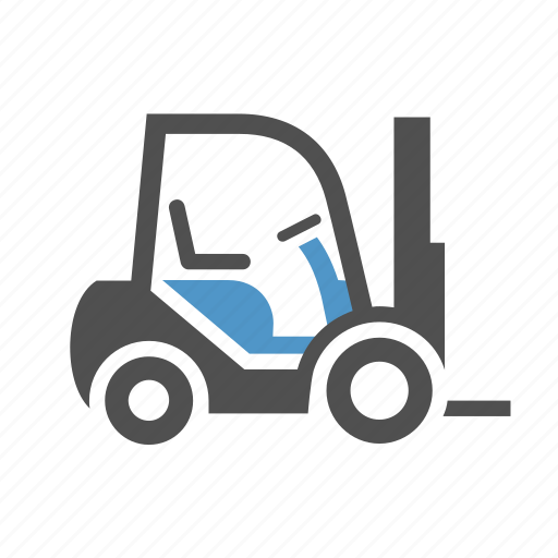 cargo, deliver, forklift, freight, loader, transport, truck icon