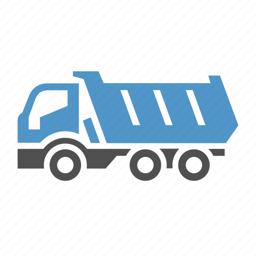 cargo, dump, dumper, freight transport, lorry, tipper, truck icon