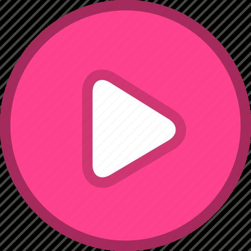 media, multimedia, play, start icon