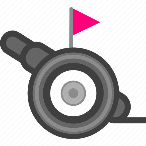 attack, cannon, military, war, weapon icon