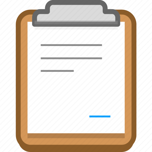 documents, notes, office, paste icon