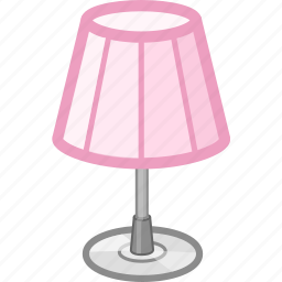 desk, furniture, lamp, learn, work icon