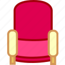 chair, free, furniture, sofa icon