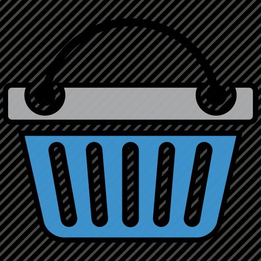 analytics, basket, business strategy, seo, social media, web designer icon