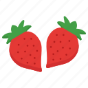 cocktail, drink, food, fruit, healthy, juice, strawberry