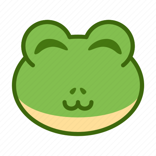Cute Emoticon Frog Funny Smile Icon Download On Iconfinder