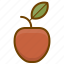 apple, food, fruit, health icon