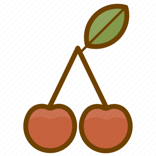 berry, cherry, food, fruit, health, organic, vegan icon