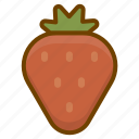 berry, food, fruit, health, strawberry icon