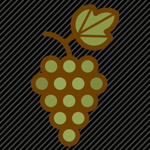 food, fruit, grape, health, wine icon