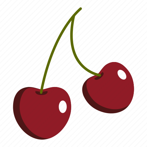 berry, cherry, food, fruit, juicy, nature, sweet icon