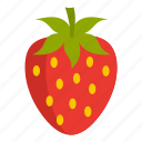 berry, fresh, freshness, organic, ripe, strawberry, sweet icon