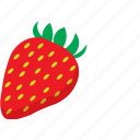 fruit, strawberry