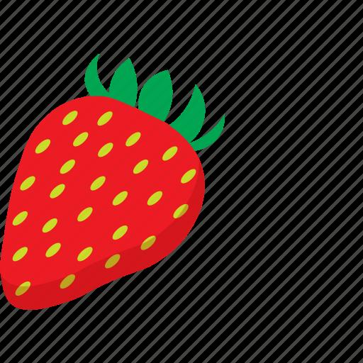 fruit, strawberry icon