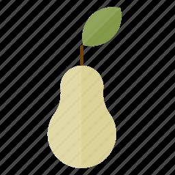 food, fruit, health, pear icon