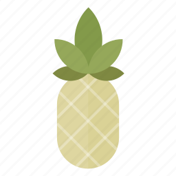 bio, food, fruit, health, kitchen, pineapple, vegan icon