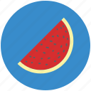 fruit, piece of watermelon, watermelon, watermelon slice icon