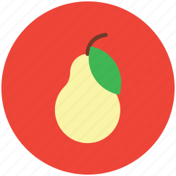food, fruit, healthiest food, nutritious food, pear, pome icon