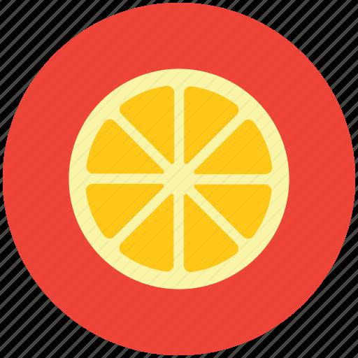citrus, food, fruit, half orange, healthy diet, orange icon
