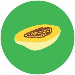 alligator pear, avocado pear, fruit, half avocado, pear, tropical fruit icon