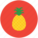 ananas, food, fruit, healthy food, pineapple, tropical fruit icon