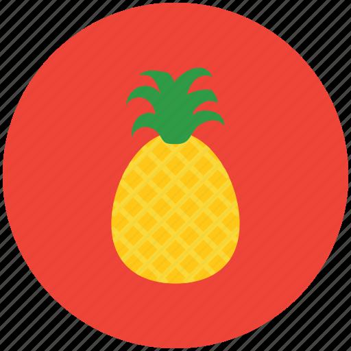 ananas, food, fruit, healthy food, pineapple, tropical fruit icon
