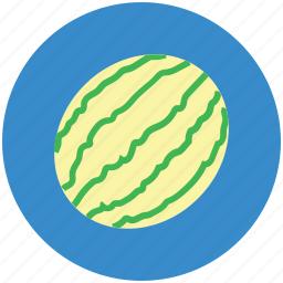 cantaloupe, food, fruit, healthy diet, watermelon icon