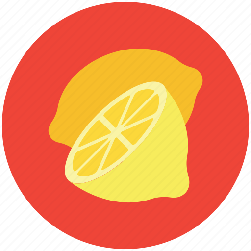 food, fruit, half lemon, healthy diet, lemon, lime icon