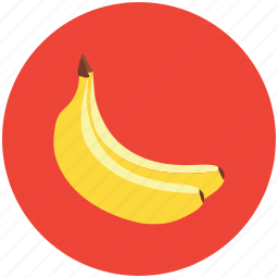 bananas, food, fruit, healthy diet, plantains icon