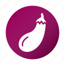aubergine, brinjal, diet, eggplant, tasty, vegetable icon