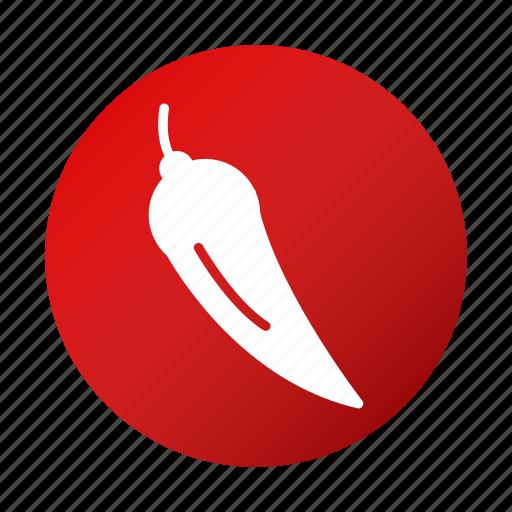 chili, food, pepper, tasty, vegetable icon