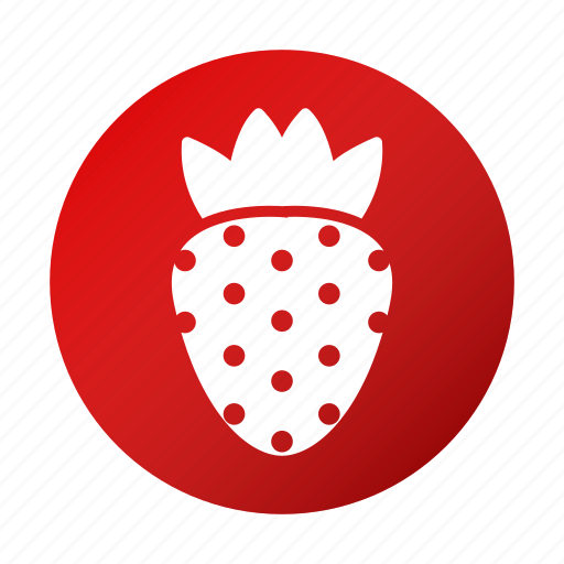 fruit, healthy, strawberry, tasty icon