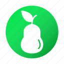 fruit, pear, tasty, vegetable icon