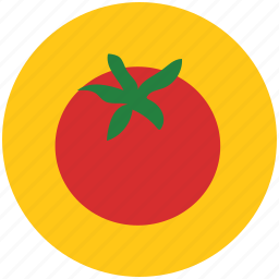 food, fruit, healthy food, nutrition, organic, tomato icon