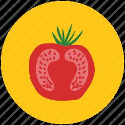 beetroot, food, half of beetroot, raw food, root vegetable, vegetable icon